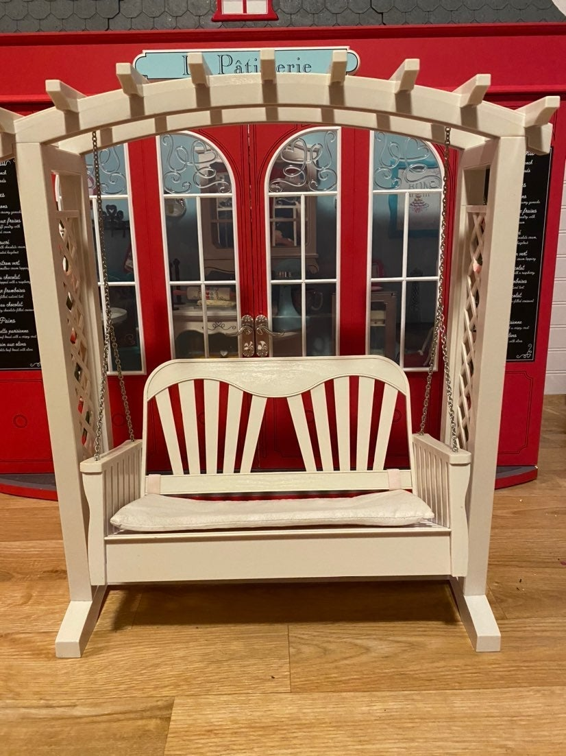American Girl Trellis Swing