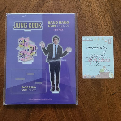 BTS Bangbangcon Jungkook Acrylic Stand