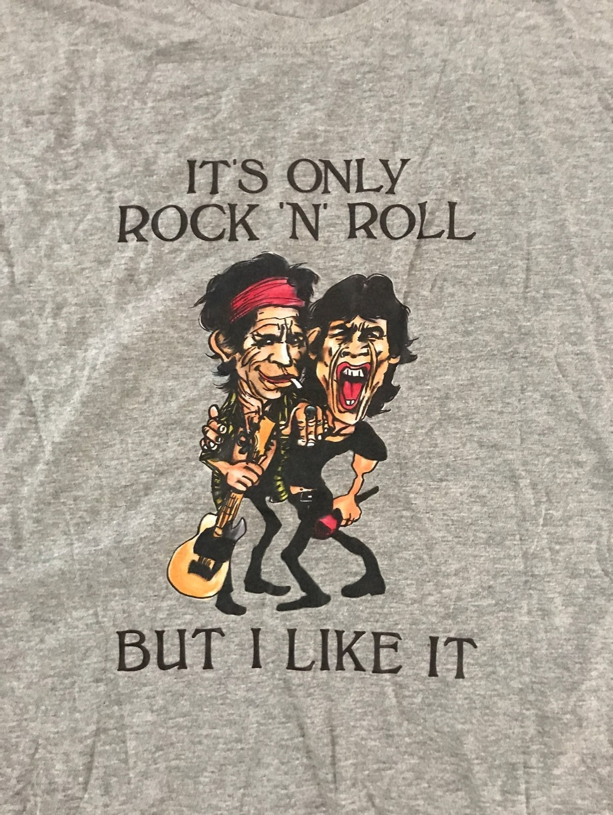 Rolling Stones T Shirt Sz XL Grey NEW