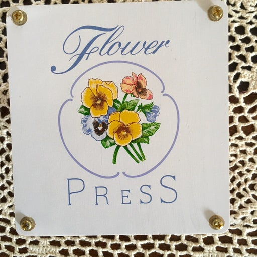 Dried Flower and Leaf Press w/ blotters