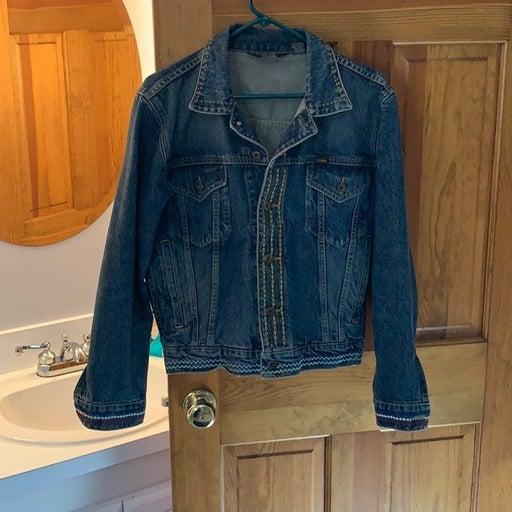 Vintage ralph lauren polo jean jacket me