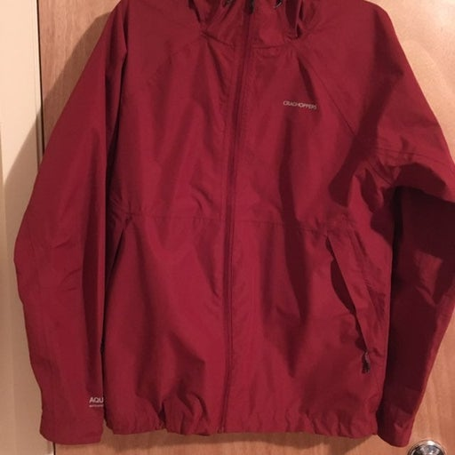 Men's Medium Craghoppers Rain Jacket