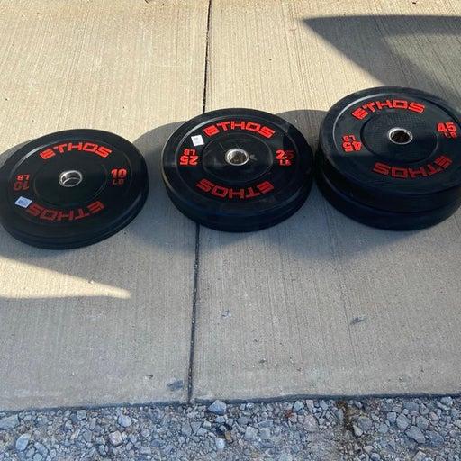 Ethos 160lb Bumper Weight Set