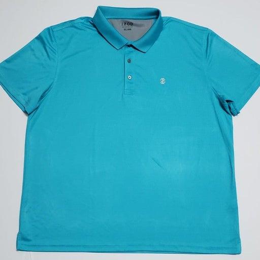 Mens Izod Baby Blue Polo Shirt XXL