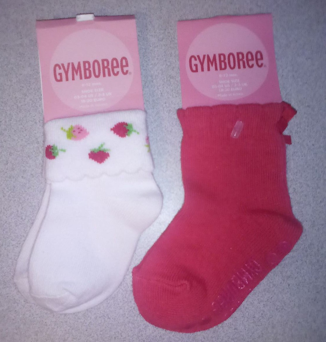 NWT GYMBOREE INFANT GIRL'S LOT 2 PAIR SO