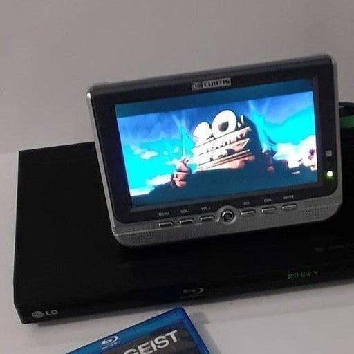 """Curtis 7""""  widescreen color tv 16.9"""