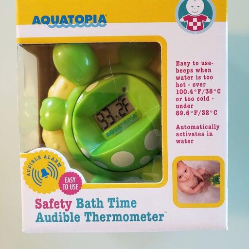 Aquatopia audible thermometer