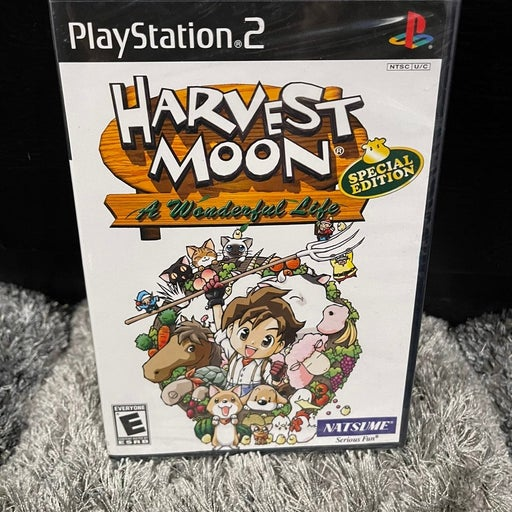 Harvest Moon: A Wonderful Life - Special Edition on Playstation 2 SEALED
