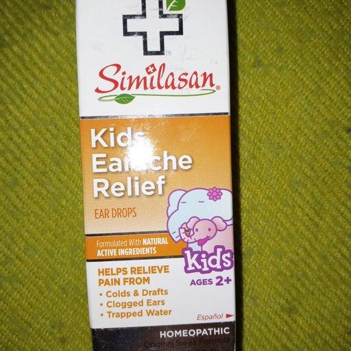 Kid earache relief ear drops ages 2+