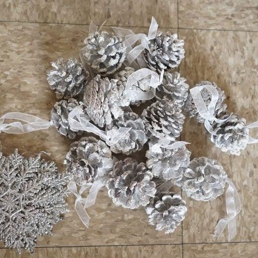 Christmas Decoration Bundle (Silver)