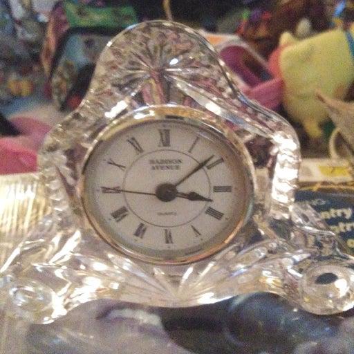 madison avenue quartz clock