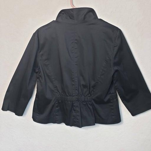 Covington Jacket Blazer Black 3/4 Sleeve