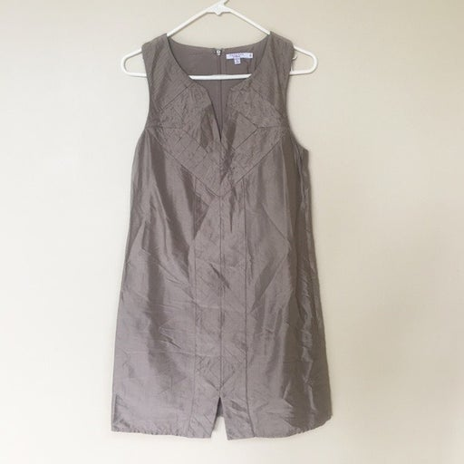 Calypso St. Barth 100% Silk Brown Dress