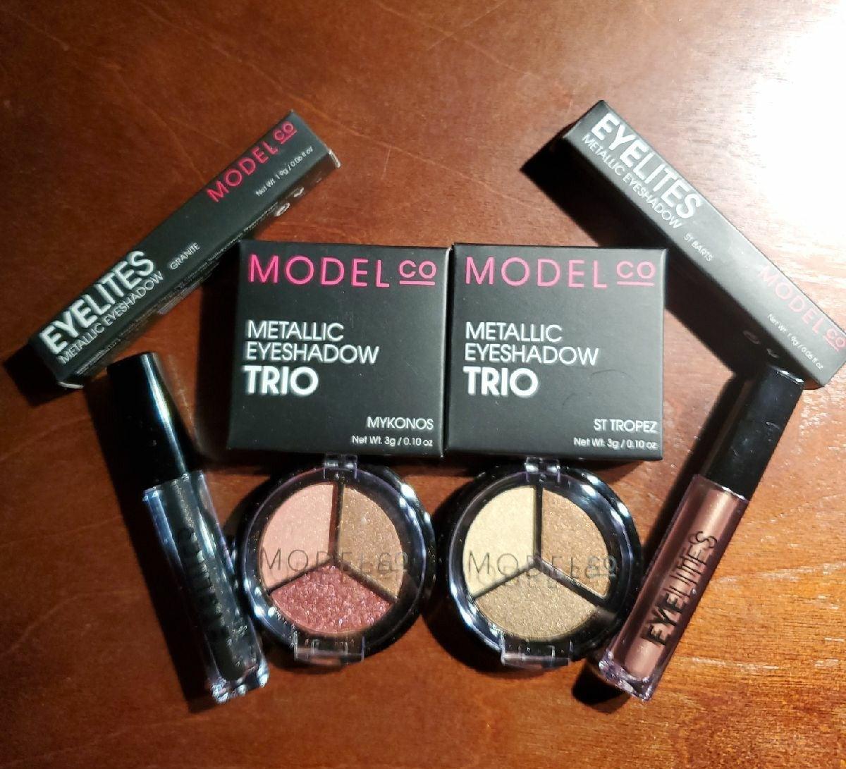 NIB Model Co eye shadow bundle $50 value