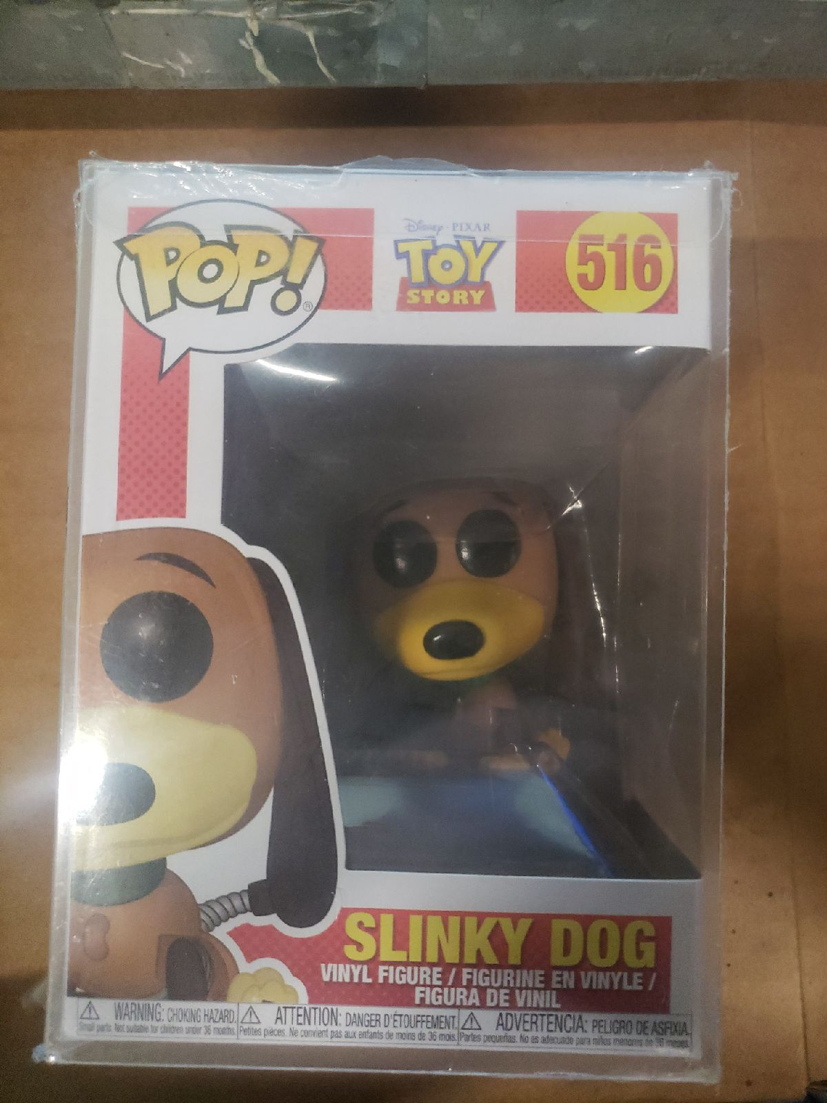 Slinky Dog Toy Story Funko 516 new