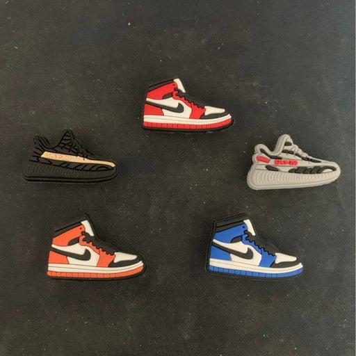 5 Nike croc charms