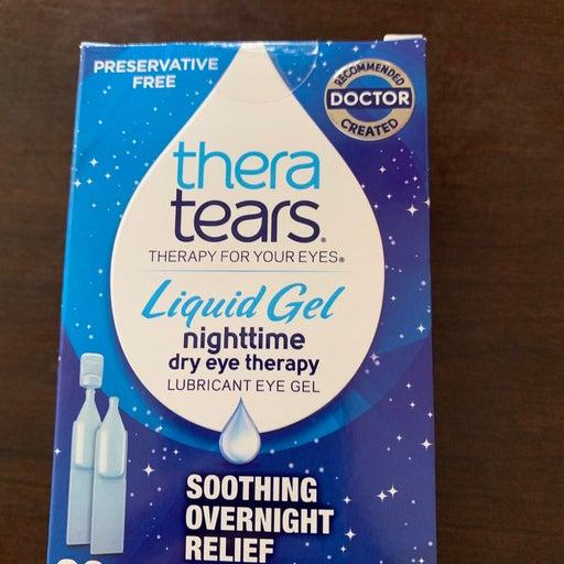 Thera Tears Liquid Gel Night Dry Eye The