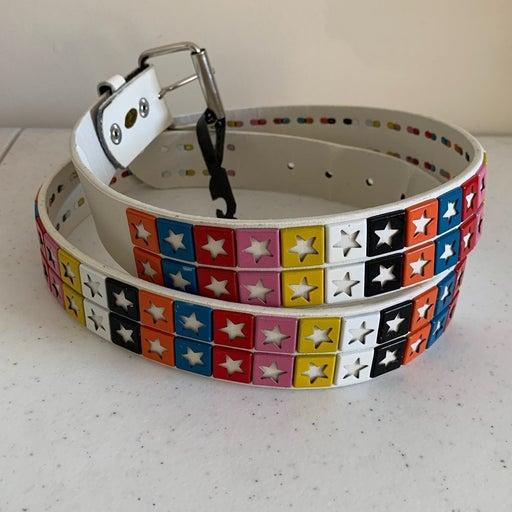 Leather Studded Belt - Free Shipping