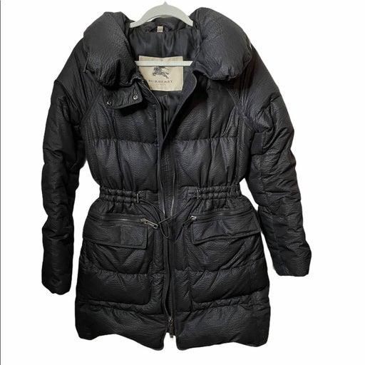 Burberry Down Jacket Black Small