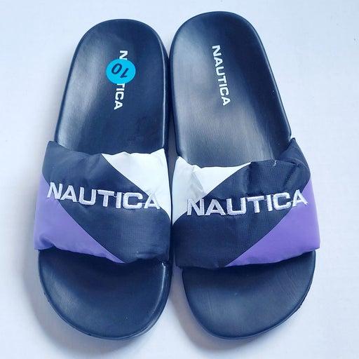 NAUTICA Women's Padded Slip on Sandals.
