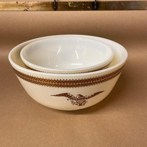Pyrex Federal Eagle 478/479 Bowls