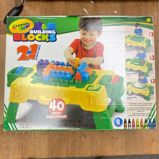 Building Block Two and 1 Activity Table