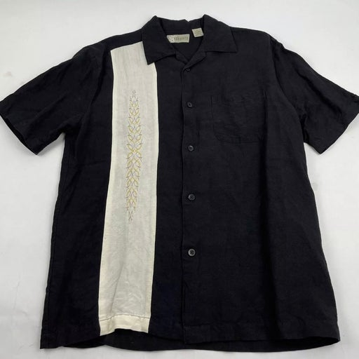 Cubavera island lounge club s/s button shirt Mens Small