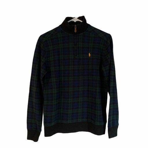 NWT Polo Half Zip Sweater size L