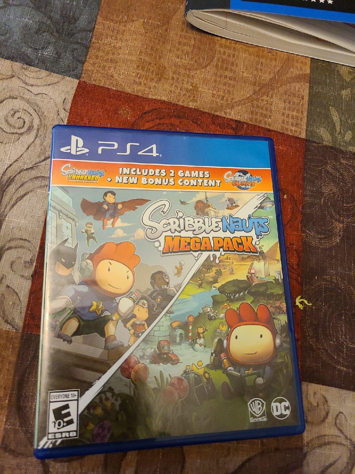 Scribblenauts Mega Pack PS4