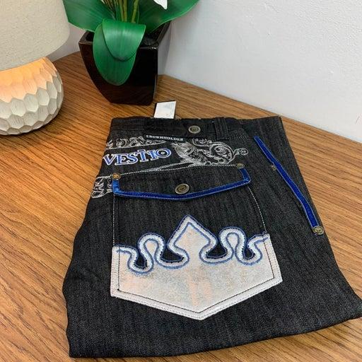 Crown Holder - Jeans