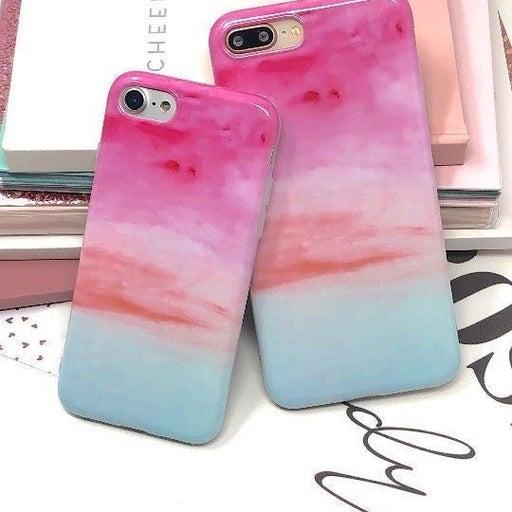 NEW iPhone 7/8 Serenity Rainbow Case