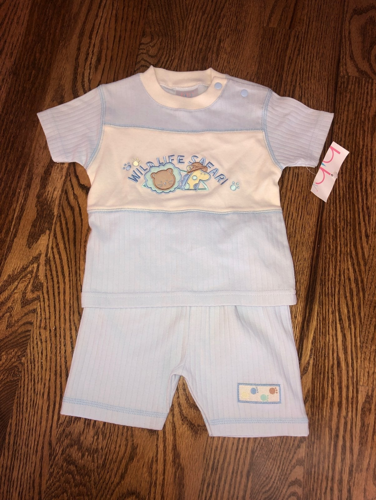 BabyRageous 2 Piece Baby Boy Outfit 6 mo