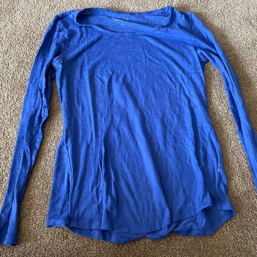 Blue Long Sleeve - L