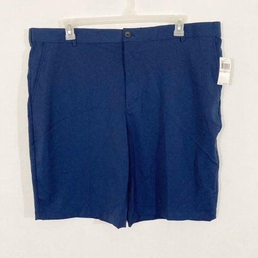 NEW Izod Golf Shorts Men's Size 42 Navy Blue Straight Fit Stretch