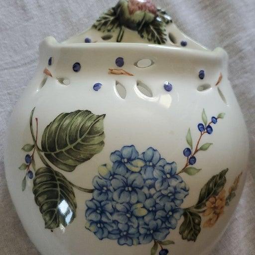 Vintage Pottery Wall Pocket
