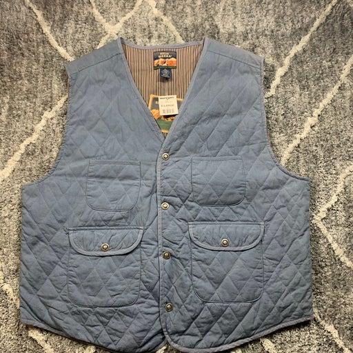 High Sierra Mens Size Large Blue Vest