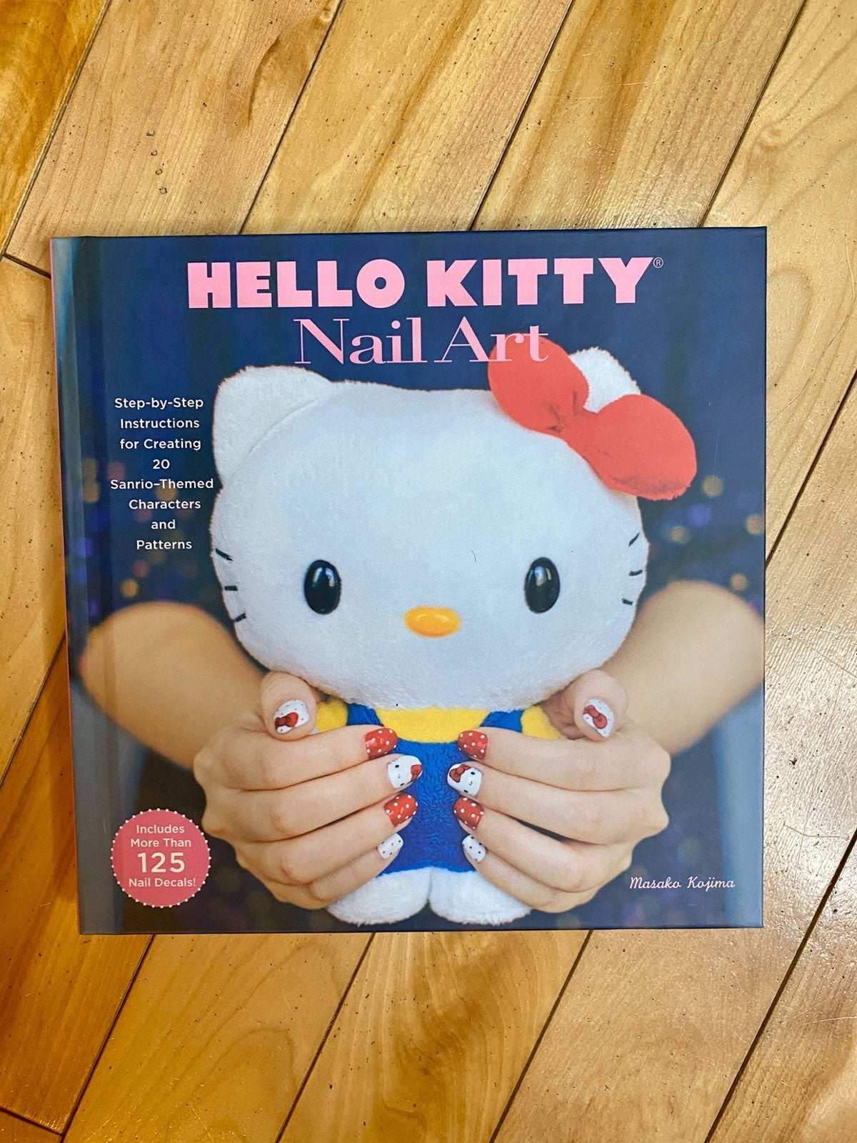 Hello Kitty Nail Art Book Nail Decor