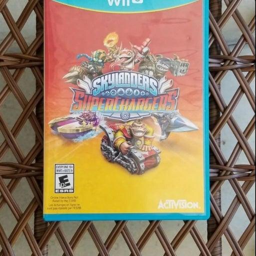 Skylanders Superchargers Wii U