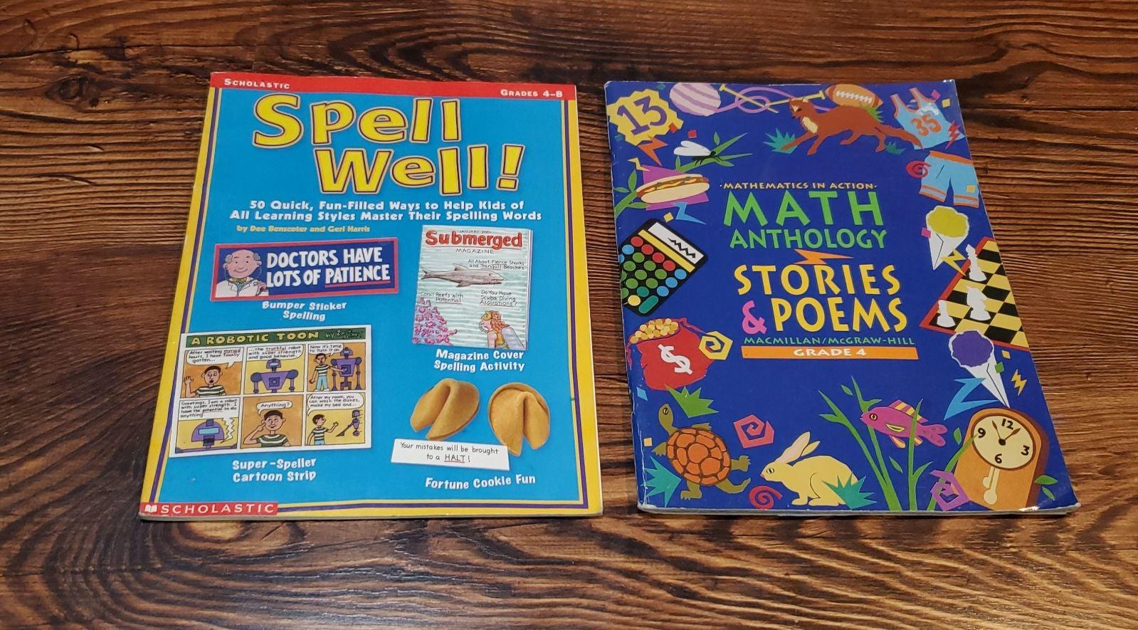 ELA Math Spelling Homeschool Grade 4/5