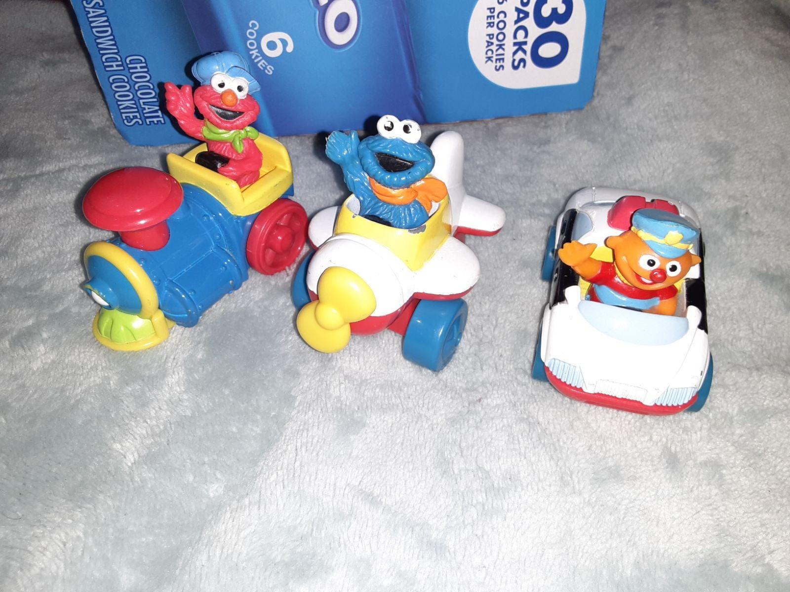 Sesame street vehicles