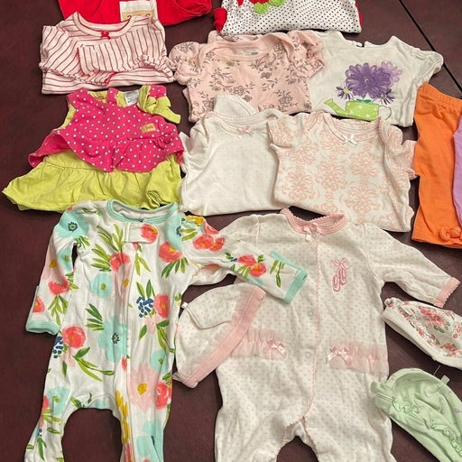 Baby girl clothes newborn - 3mon bundel