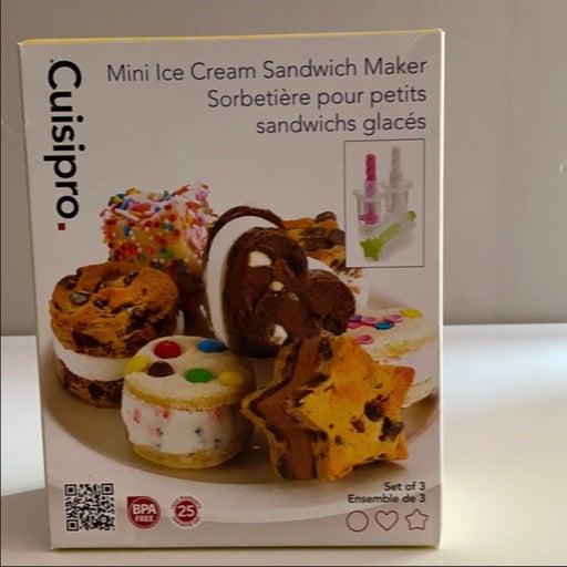Mini Ice Cream Sandwich Maker