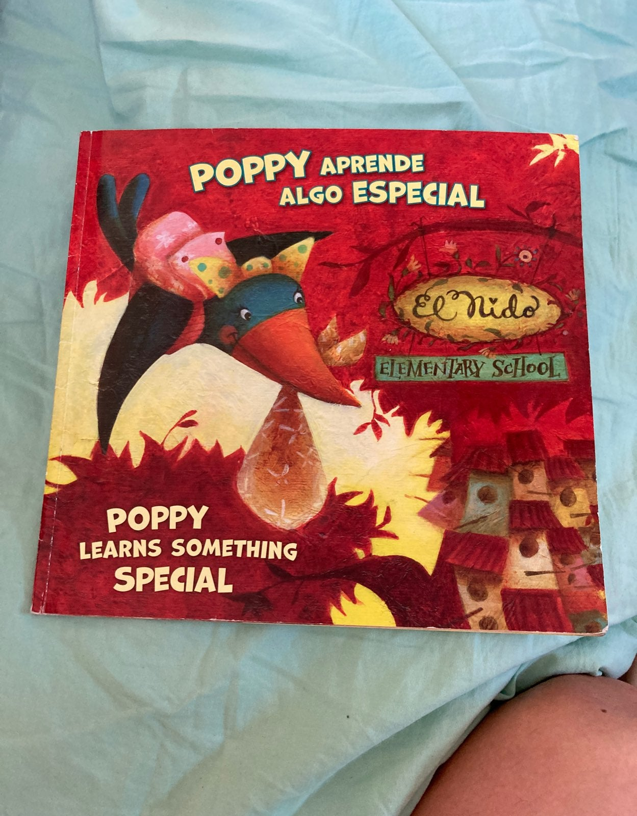 Poppy learn some thing special Spanish t