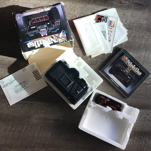 Nishika 3D camera - original box