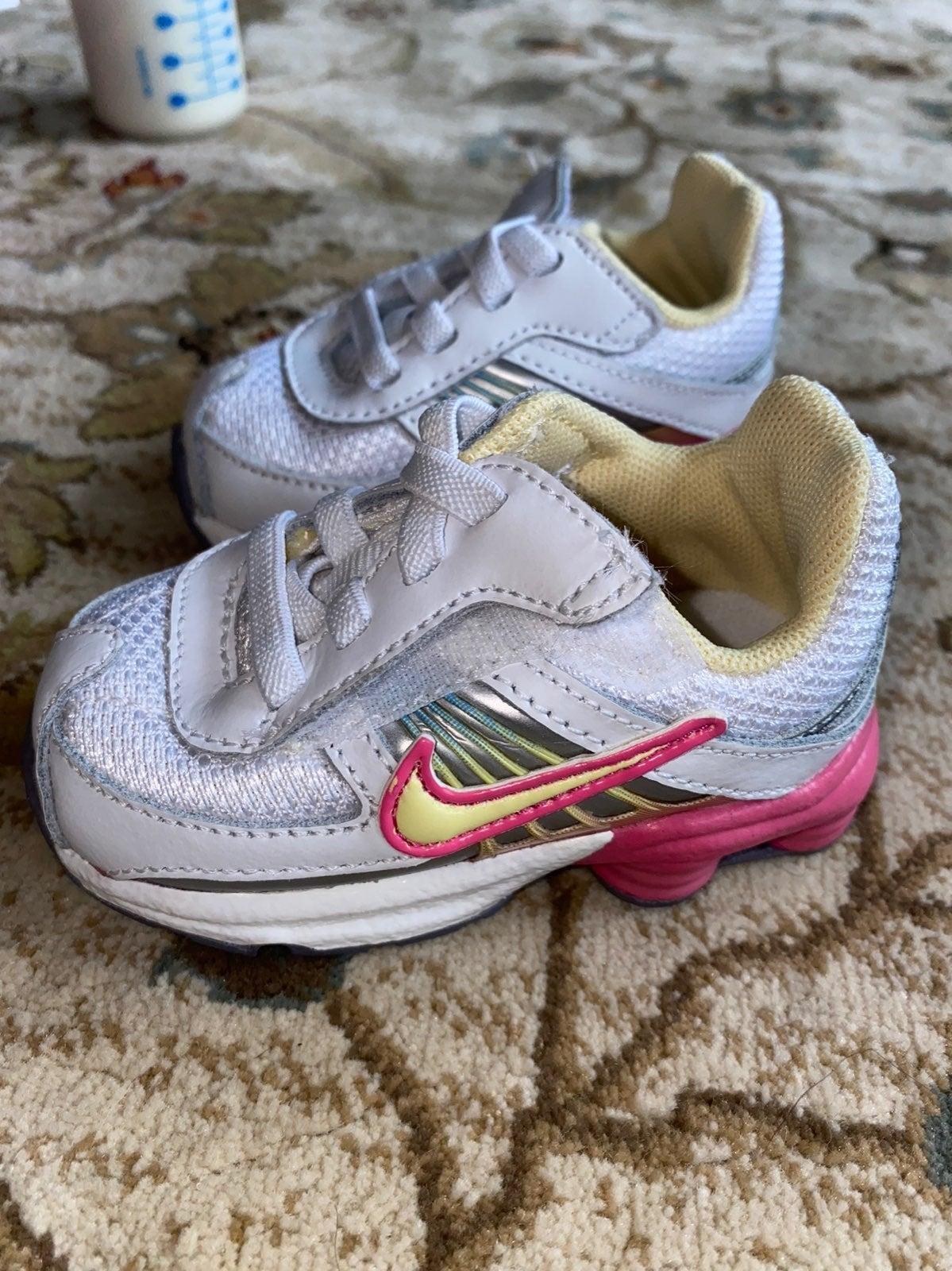 Baby girl Nike sneakers size 3