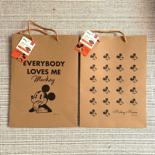 Disney Mickey Mouse-Brown Paper Bag (2)