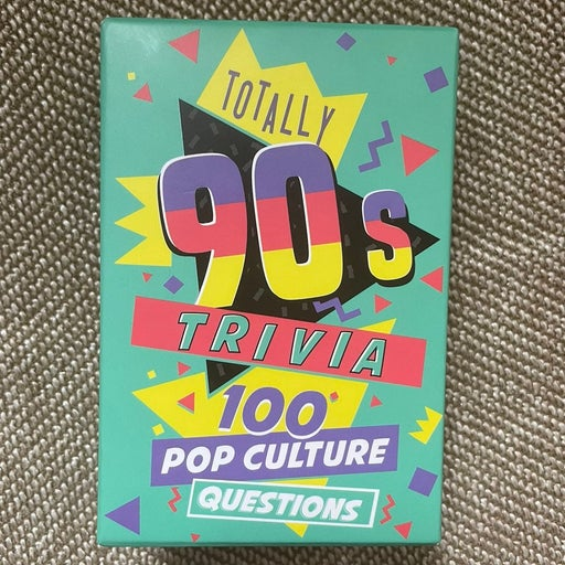 90s trivia game