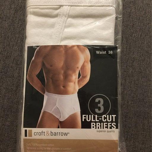 3-Pack Full cut Briefs