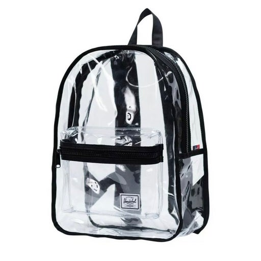 Herschel Supply Co Classic Mid Volume Clear/Black Backpack 18L Festival Concert