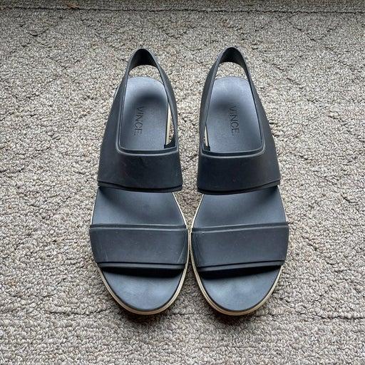 Vince rubber Sandals Womens 7.5